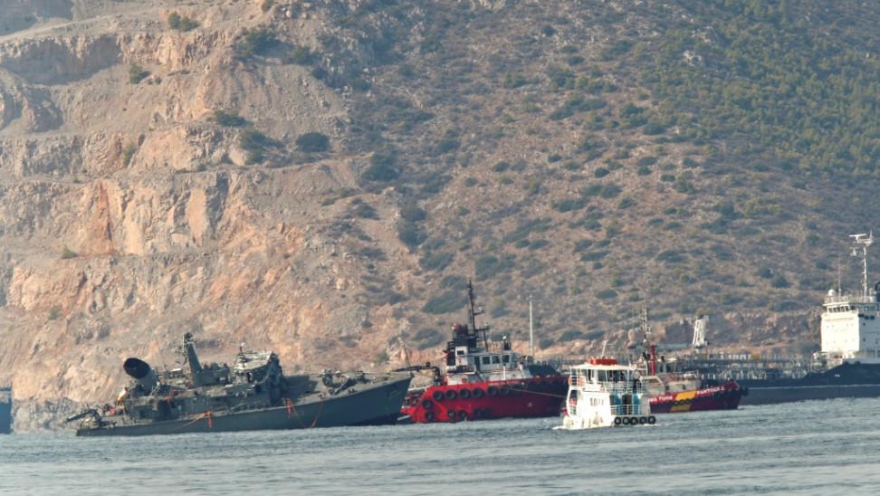 """Λιμενικό για """"Καλλιστώ"""": Προκλήθηκε θαλάσσια ρύπανση – Το σχέδιο αντιμετώπισης"""